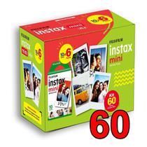 Papel fotografico para instax mini caixa 60 fotos - Fujifilm