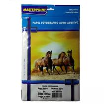 Papel Glossy Adesivo 130g 20fl A4 Masterprint -