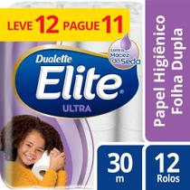 Papel Higienico Folha Dupla Elite 12 Rolos - Softys