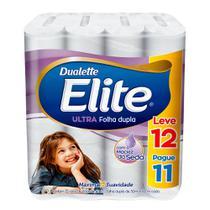 Papel higienico folha dupla elite leve 12 pague 11 rolos de 30m - Softys