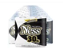 Papel Higiênico Folha Dupla Ness Extra Luxo  - Fardo com 48 Rolos - Indaial