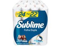 Papel Higiênico Folha Dupla Sublime Softys - 24 Rolos 30m