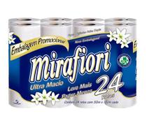 Papel Higiênico Mirafiori Folha Dupla 30mx24cm Mirafiori -