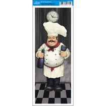 Papel para Arte Francesa Litoarte 10 x 25 cm - Modelo AFP-055 Cozinheiro I -