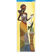 Papel para Arte Francesa Litoarte 22,8 x 62 cm - Modelo AFVE-056 Angolana c/ Copos de Leite -