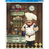 Papel para Arte Francesa Litoarte 28 x 35 cm - Modelo AFM-036 Cozinheiro I - BA -