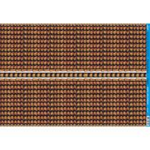 Papel para Decoupage Litoarte 49 x 34,3 cm - Modelo PD-215 Telhado I -