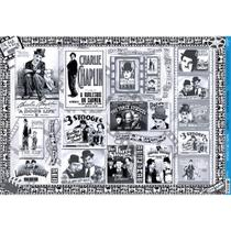 Papel para Decoupage Litoarte 49 x 34,3 cm - Modelo PD-803 Cinema -