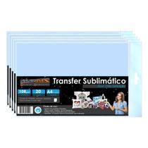 Papel para sublimação Azul A4 210x297mm Marpax 500 folhas -