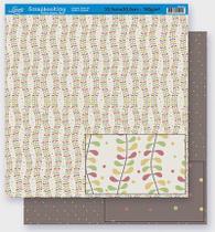 Papel Scrapbook Litoarte 30,5x30,5 SD-273 Abstrato e Poá Colorido -
