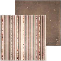 Papel Scrapbook WER088 30,5x30,5 Bo Bunny Namorados -