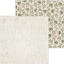 Papel Scrapbook WER091 30,5x30,5 Bo Bunny Apaixonado -