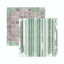 Papel Scrapbook WER130 30,5x30,5 Bo Bunny Felicidade -