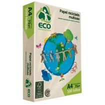 Papel Sulfite A4 Reciclado Jandaia Eco Millennium - 500 Folhas -