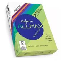 Papel Sulfite Pacote 500 Folhas  A4 Allmax 75g Impressora -