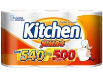 Papel Toalha Folha Dupla Kitchen Jumbo - 3 Unidades