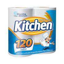 Papel Toalha Kitchen 120 Folhas -