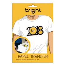 Papel Transfer Jato Tinta A4-Bright