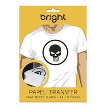 Papel Transfer para Tecido Claros 10 folhas 121 Bright -