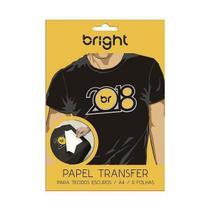 Papel Transfer para Tecido Escuro 5 folhas 020 Bright -