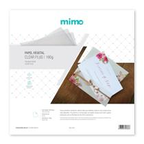 Papel Vegetal Imprimível Mimo - 30,5 x 30,5 - 10 folhas - 180gr -