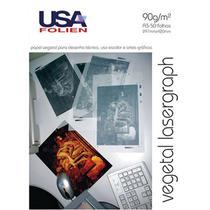 Papel Vegetal Lasergraph A3 90g/m² USA Folien 50 Folhas -