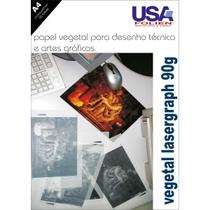 Papel Vegetal Lasergraph A4 90G. - Usa Folien