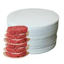 Papel Vegetal Redondo Para Separar Hamburguer 12,8 cm Picelli (1kg) -