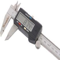 Paquimetro digital 150mm inox profissional com estojo mtx 316119. -