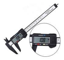 Paquímetro Digital Fibra Carbono 150mm - Idea -