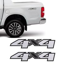 Par Adesivos 4x4 S10 Ltz High Country Blazer 13/19 Escovado - Sportinox