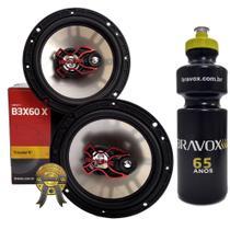 Par Alto-Falante Triaxial  Bravox B3X60X 100W RMS + PRESENTE -
