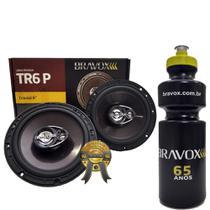 Par Alto-Falante Triaxial  Bravox TR6P 140W RMS + PRESENTE -