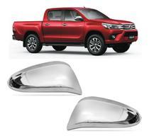 Par Aplique Cromado Retrovisor Toyota Hilux Sw4 16/20 - Shekparts