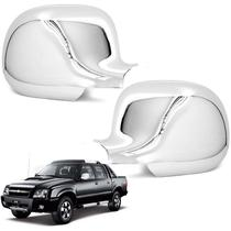 Par Aplique de Retrovisor Cromado S10 2011 Blazer Silverado - Shekparts