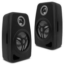 PAR Caixa Acústica Som Ambiente Orion CXB40 Preta 55w Rms -