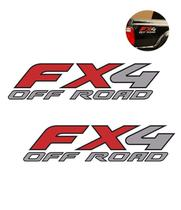 Par de Adesivos Laterais Fx4 Off Road F-250 Importada Ford - Sportinox