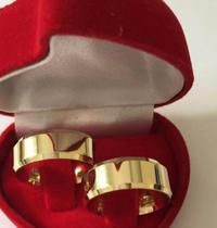 Par De Alianças Noivado E Casamento Moedas Antigas 8mm - Paulo Joias
