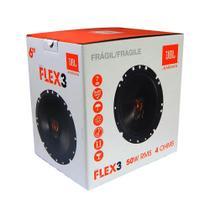 Par de Alto Falantes 6 Polegadas JBL Flex 3 6TRFX50 100w Rms o Par 4 Ohms - Selenium