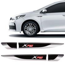 Par De Aplique Lateral Toyota Corolla Xrs Emblema Resinado 2013 a 2019 - Sportinox