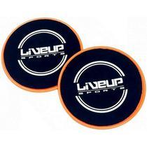 Par de Discos Deslizamento para Exercícios de Equilíbrio - LIVEUP LS3360 -