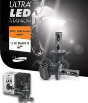 Par De Lâmpadas Ultra Led Titanium Shocklight H7 -