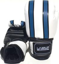 Par de Luva para Boxe 12 Oz Tamanho G Azul - LiveUp LS3086C -