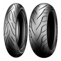 Par de Pneu Moto Michelin COMMANDER 2 140/75 17 M/C 67V Dian + 200/55 17 M/C 78V Tras TL/TT Fat Boy -