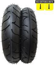 Par de Pneus Cb 300 Twister Cbx 250 Fazer 250 Ninja 300 e 250 Next 250 140/70-17 e 110/70-17 Maggion -