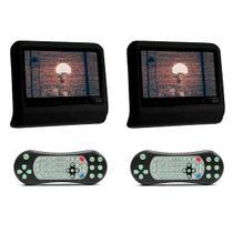 Par DVD Portátil Encosto Cabeça Preto Tela 9 Polegadas USB SD Game Wireless Joystick - First Option