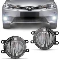 Par Farol Milha LED Lâmpada Integrada Corolla 2014 a 2019 Hilux 2016 a 2018 Auxiliar Neblina - Shocklight