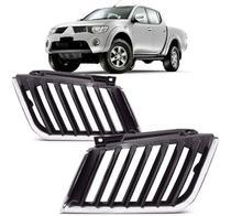 Par Grade radiador L200 Triton 2007 2008 2009 2010 Nova - Mitsubishi