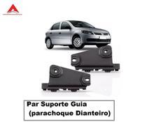 Par Guia Parachoque Dianteiro Gol G5 08 A 12 Voyage Saveiro - Volkswagen