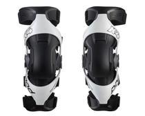 Par joelheira Motocross Enduro Trilha Pod K4 2.0  branca M G -